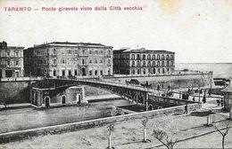 Tarente (Taranto) - Ponte Giravole Visto Dalla Città Vecchia - Ufficio Revisione Stampa - Carte Non Circulée - Taranto
