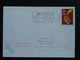 60 Oise Beauvais Fête De L'ane Donkey 2005 - Flamme Sur Lettre Postmark On Cover