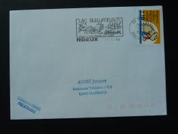 62 Pas De Calais Roeux Pêche Fishing - Flamme Sur Lettre Postmark On Cover - Poissons