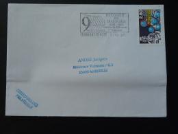 63 Puy De Dome Clermont Ferrand Croisade Concile De Clermont 1995 - Flamme Sur Lettre Postmark On Cover - Poststempel (Briefe)