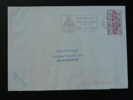 64 Pyrénées Atlantique Orthez Felix Pecaut 1998 - Flamme Sur Lettre Postmark On Cover - Marcophilie (Lettres)