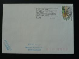 64 Pyrénées Atlantique Sare Grottes Préhistoriques - Flamme Sur Lettre Postmark On Cover - Prehistory