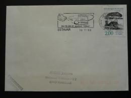 66 Pyrénées Orientales Estavar Festival Video 1988  - Flamme Sur Lettre Postmark On Cover - Cinema