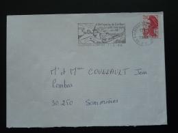 66 Pyrénées Orientales Villefranche De Conflent Train Pont Bridge 1988 - Flamme Sur Lettre Postmark On Cover - Ponti