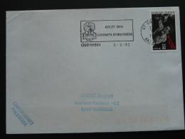 67 Bas Rhin Obenheim Recit Des Combats 1992 - Flamme Sur Lettre Postmark On Cover - 2. Weltkrieg