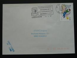 67 Bas Rhin Obenheim DFL Division France Libre 1997 - Flamme Sur Lettre Postmark On Cover - 2. Weltkrieg