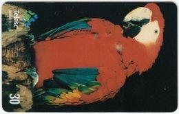BRASIL D-214 Magnetic Telesc - Animal, Bird, Parrot - Used - Brésil