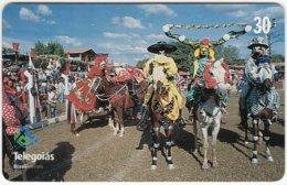 BRASIL D-348 Magnetic Telegoias - Event, Festival, Animal, Horse - Used - Brésil