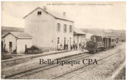 58 - MOULINS-ENGILBERT - La Gare De Moulins-Engilbert Ville ++++ Collection A. Roubé, Châtillon, #3126 +++++ LOCOMOTIVE - Moulin Engilbert