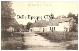 58 - Cosne-Cours-sur-Loire / VILLECHAUD - Place Du Chat / VINS / LIQUEURS ++++ Biaud, Photo., Cosne ++++ 1921 ++++ RARE - Cosne Cours Sur Loire