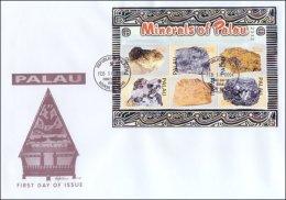 Palau 2004 Sheet/6 -Minerals #759 FDC - Palau