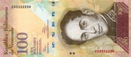 VENEZUELA 100 BOLIVARES 2011 P-93d UNC 3.2.2011 [ VE093d ] - Venezuela