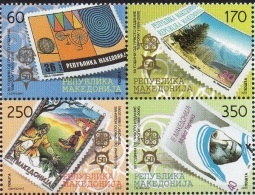 Macedoine 2005 -  Yv.no.362-5 Neufs** - Macédoine