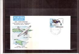 FDC Samoa I Sisifo - Stamps With Overprint (to See) - Samoa