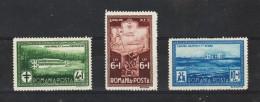 1932 - Sanatorium Des Employes P.T.T.  Mi No 446/448 Et Yv 449/451  MH - 1918-1948 Ferdinand, Carol II. & Mihai I.