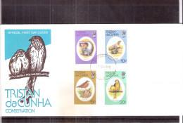 FDC Tristan Da Cunha - Conservation - Animaux Et Leurs Petits  - Série Complète (à Voir) - Tristan Da Cunha