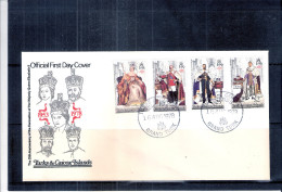 FDC Turks & Caïcos Islands - Coronation Of QEII  - Complete Set (to See) - Turks & Caicos (I. Turques Et Caïques)