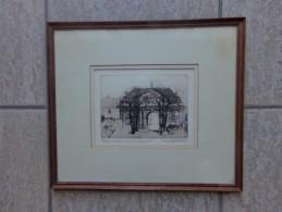 Vorst Abbaye De Forest Anno 1764 Style Louis XVI Door Henri Quittelier - Estampes & Gravures
