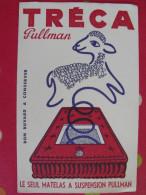 Buvard Matelas Treca Pullman. Mouton. Vers 1950. - Carte Assorbenti