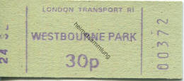 London Transport R1 - Westbourne Park 30p - Bahn