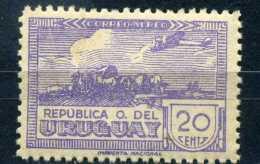 OLD 20 CENTS URUGUAY CORREO ALREO STAMP - Uruguay