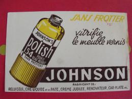 Buvard Polish Johnson Vitifie Le Meuble Vernis. Vers 1950. - Wash & Clean