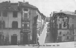VITERBO.- VIA FARNESE ORA VIA CAVOUR SEC. XVI - Viterbo