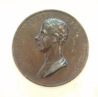 Médaille - WILLIAM PITT Par J.G Hancock  - 1806 - Professionals/Firms