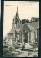 CPA - Eglise Et Cimetière De PLOUEZOC'H, Animé - Frankreich
