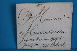 1781   -    MONTPEZAT  à  CALAOUE   SAINT  LIZIER  DU  PLANTE     6   PHOTOS - Postmark Collection (Covers)
