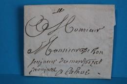 1781   -    MONTPEZAT  à  CALAOUE   SAINT  LIZIER  DU  PLANTE     5   PHOTOS - Postmark Collection (Covers)