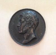 Médaille - GÉNÉRAL LOUIS-LAZARE HOCHE (1768-1797) Par Gayrard - Monarquía / Nobleza
