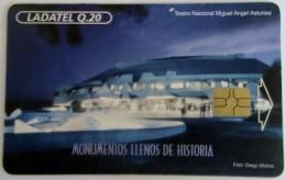 GUATEMALA -  National Theatre, Telgua-023, Used - Guatemala