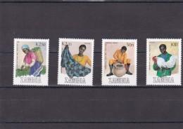 Zambia Nº 441 Al 444 - Zambia (1965-...)