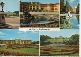 CP - PHOTO - WIEN - SCHONBRUNN - MULTIVUES - 45878 - RICHARD PIETSCH - Château De Schönbrunn
