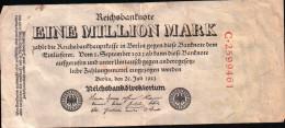 Reichsbanknote - 1 Million Mark - 25.7.1923 -  KM 94 - [ 3] 1918-1933 : Weimar Republic