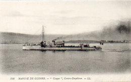 "Marine De Guerre - ""CASQUE"" Contre Torpilleur   (89311) - Guerra"