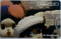 GUATEMALA - Rog Dolls, Telgua-079, Used - Guatemala