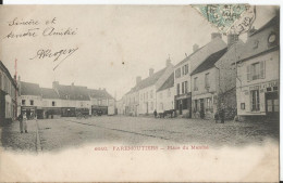 CPA - Faremoutiers  - Place Du Marché - Faremoutiers