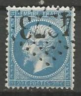France - Obl. GC4273 VILLERS COTTERETS Sur Timbre Napoleon III Et/ou Cérès - N°22 - Marcofilie (losse Zegels)