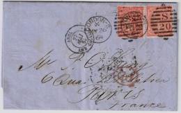 1864, London - Paris  , #5968 - Briefe U. Dokumente