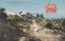 TUNISIE - VILLE ARABE AU BORD DE LA MER - LA GOULETTE PRES DE TUNIS - Tunisie