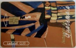 GUATEMALA - Painting 3 , Telgua-117, Used - Guatemala