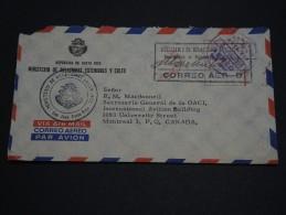 COSTA RICA - Enveloppe En Franchise Pour Le Canada En 1964 - A Voir - L 1477 - Costa Rica