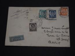 YOUGOSLAVIE - Enveloppe Par Avion Pour La France En 1937- A Voir - L 1479 - 1931-1941 Royaume De Yougoslavie