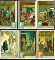Chromo ( 4822 )  6 Chromos - Les Fiancés Par Manzoni - Liebig