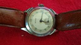 Rare Montre SOLEIX Mécanique Qui Fonctionne Cadran 27 Mm - Horloge: Antiek