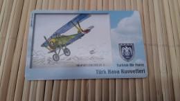 Phonecard Turkey Airplane  Used - Turkey