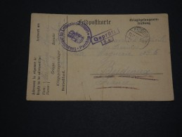 ALLEMAGNE - Carte De Prisonnier Du Camp De Parchim En 1915 Pour La France - A Voir - L 1487