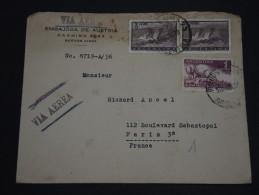 ARGENTINE - Enveloppe De L 'Ambassade D' Autriche Pour La France Par Avion - A Voir - L 1491 - Argentine